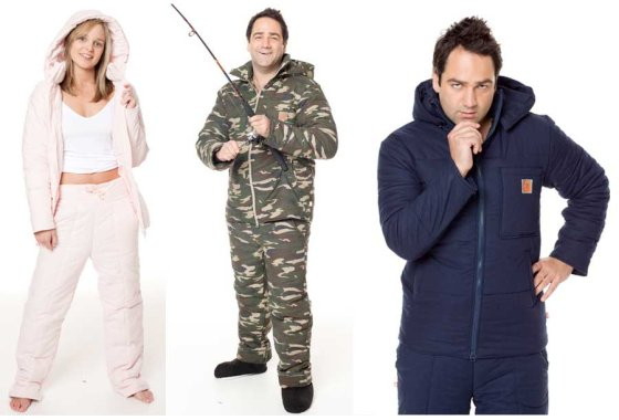 lazypatch Duvet Suits - wear anywhere