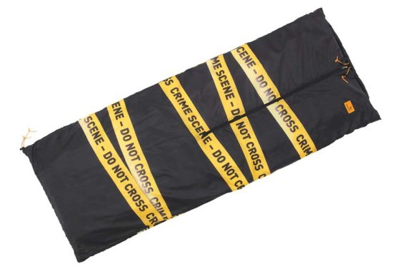 Easy Camp Crime Scene Image Sleeping Bag Coat