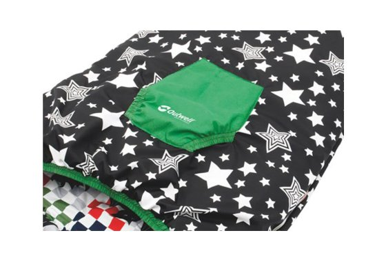 Outwell Batboy Sleeping Bag Pocket Feature