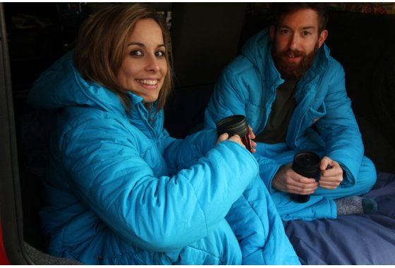 Lazypatch Duvet Suits - Cosmos Blue our NEW Colour for 2016