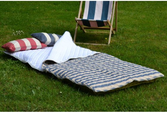 Harbour Stripe Cotton Sleeping Bag