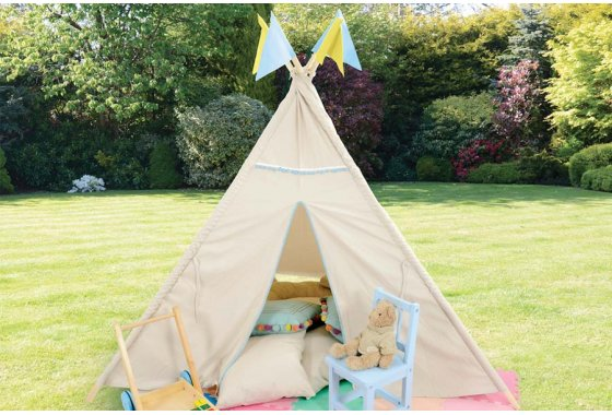 Kids Homelands Teepee Tent