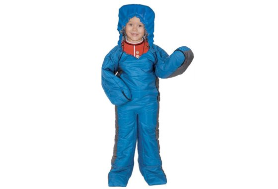 Kids Summit Onesie Sleeping Bag Suit - Blue