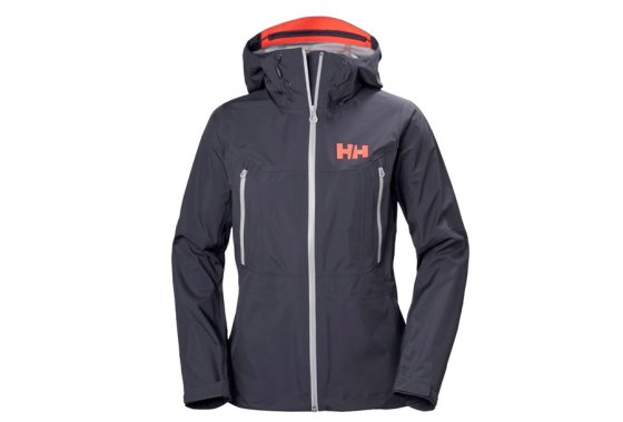 Graphite Helly Hansen Womens Shell Jacket