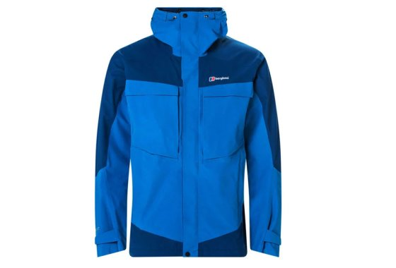 Blue Mens Berghaus Mera Peak Waterproof Jacket