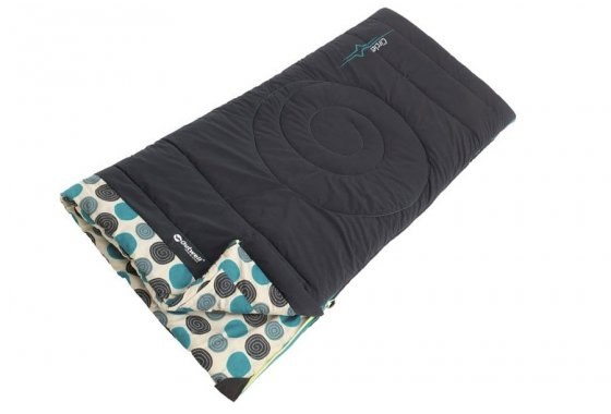 Navy Outwell Kids Circles Sleeping Bag