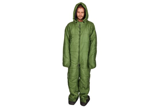 Green Hygger Sleeping Bag Suit