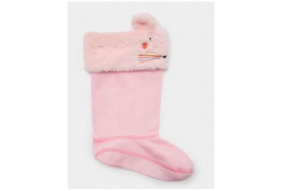 Kids Joules Pink Smile Welly Liners
