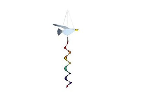 Seagull 3D Spinner Windsock