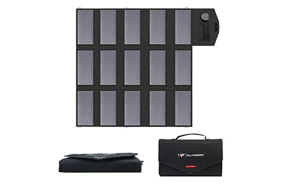 ALLPOWERS Solar Charger 100W Solar Panel Foldable Portable w