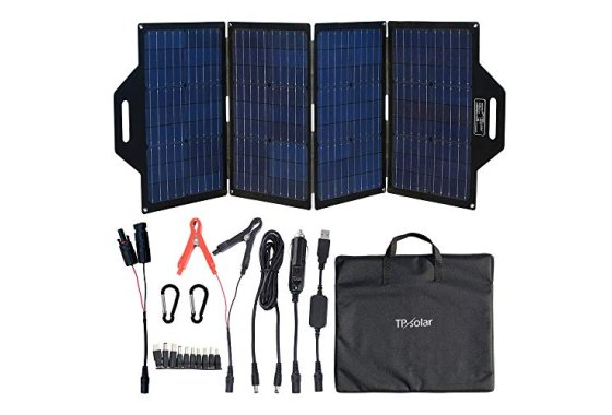 TP-solar 120 Watt Foldable Solar Panel Charger Kit for Porta