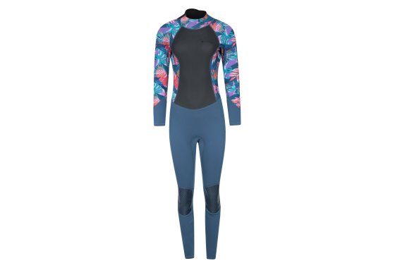 Printed Womens Full Wetsuit - Green