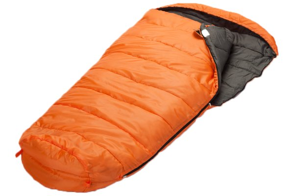 Skandika Vegas Orange Sleeping Bag - Right Zip