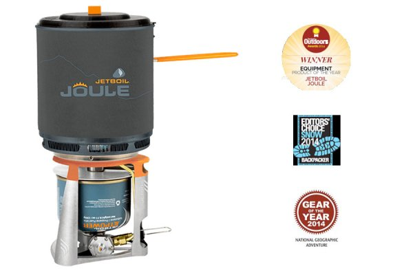 Jetboil Joule award winning group cooking system