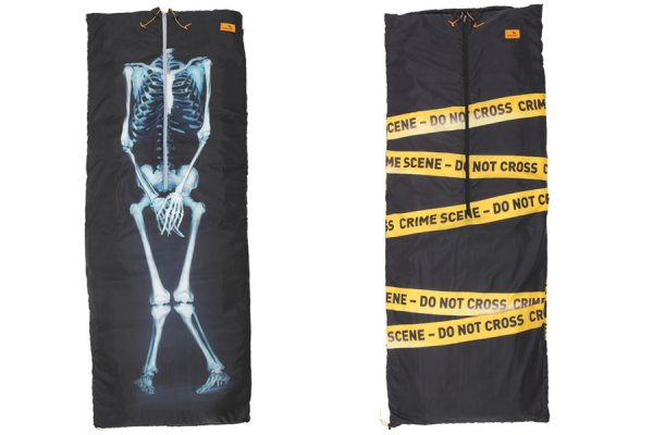 Easy Camp X-Ray and Crime Scene Image Coat Sleeping Bags