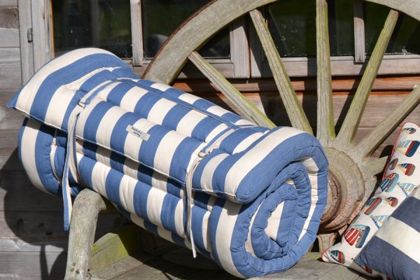 Harbour Stripe Cotton Roll Up Bed