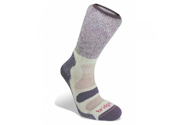 Bridgedale CoolFusion Light Hiker Socks - Plum