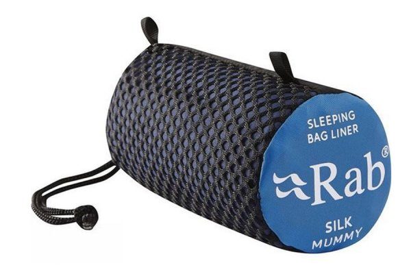 Rab Silk Liner for Mummy shaped sleeping bag