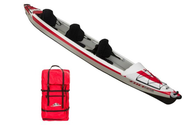BIC Yakkair Inflatable 3 Seat Kayak