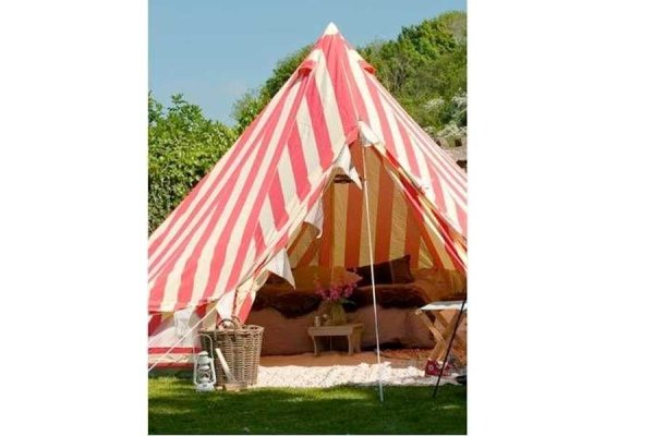 Summer Fete Striped 4M Bell Tent