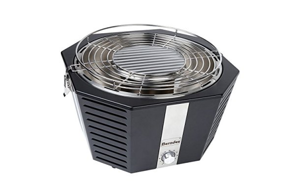 Berndes P502022 Portable Fan Assisted Grill, Tabletop Smokel