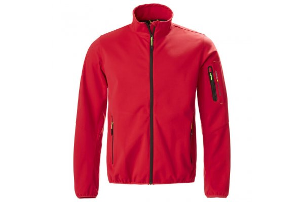 Musto Men's Technical Crew Softshell Jacket - Red - Size XXL