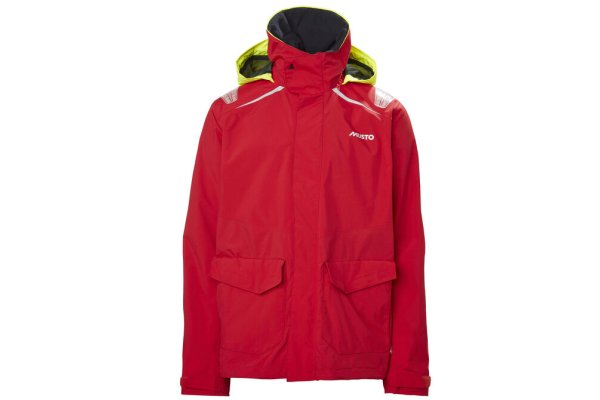 Musto Men's Sailing BR1 Inshore Jacket - Red - Size XXL