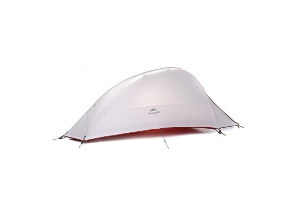 Camping Tent 1 Person 4 Season Tent Double Skin 20D Silicone