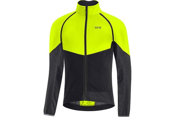 GORE WEAR Men's Cycling Jacket Phantom, GORE-TEX INFINIUM, L