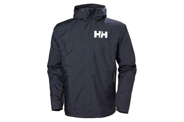Helly Hansen Mens Active 2 Rain Jacket Red M
