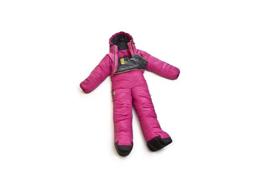 musucbag classic pink sleeping bag suit planet camping. Black Bedroom Furniture Sets. Home Design Ideas