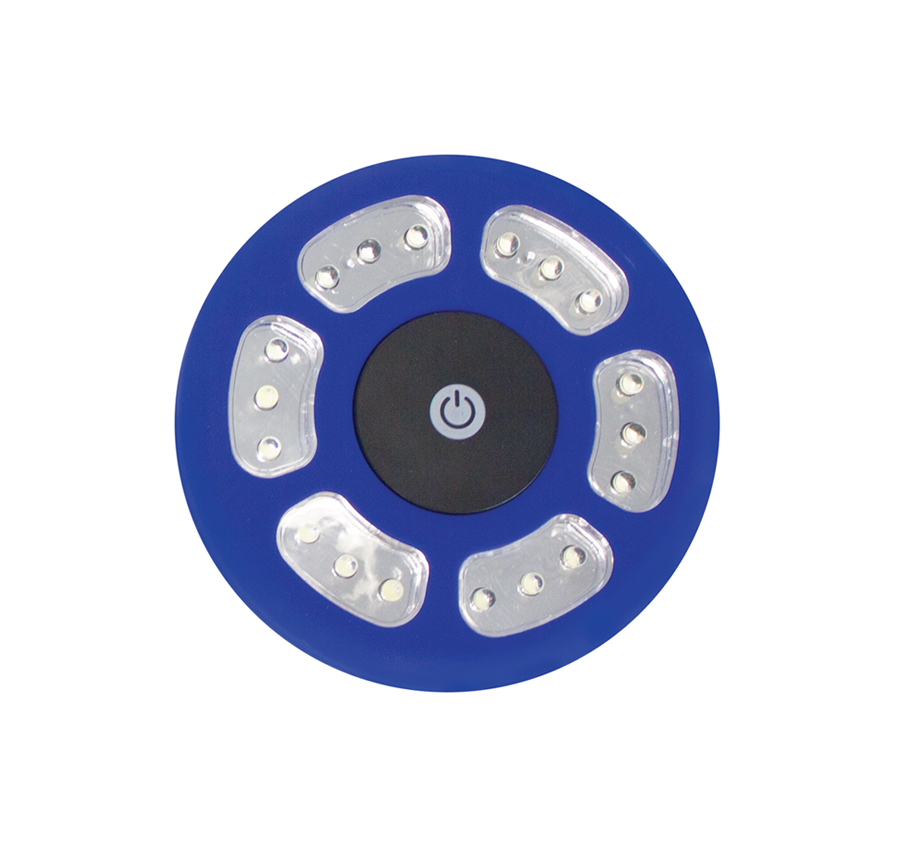Tent Light 18 LED with hook - Blue