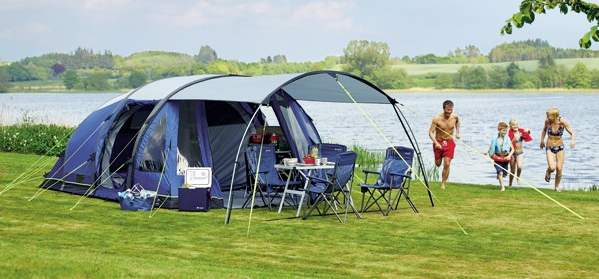 Outwell Amarillo Tent & Outwell Amarillo 6 Man Family Tent