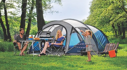 Earth 5 Tent from the Outwell Encounter Collection & Outwell Earth 5 Tent | Family | 2016