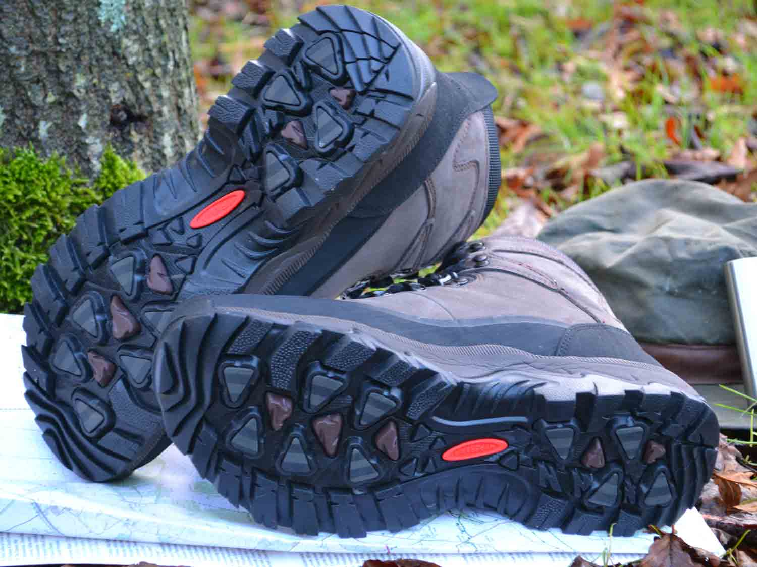 Hypergrip Soles with IceLock Technology for extra traction