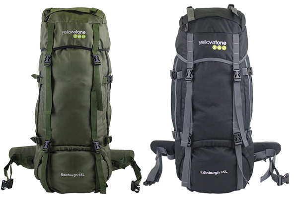 Yellowstone Rucksack Edinburgh 65L