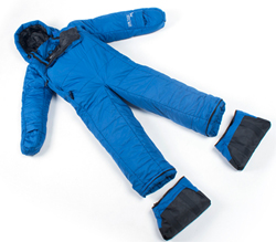 SelkBag Lite 5G Seaport Blue Sleeping Bag Suit