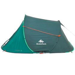 2 Seconds Pop Up Tent Side View