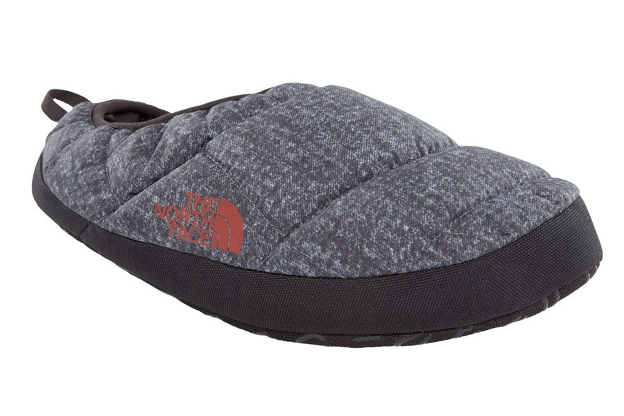 The North Face Grey Mule Slipper