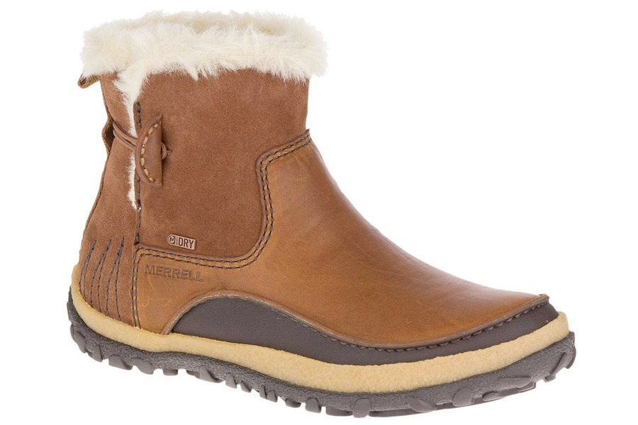 9ceff3e7e2 Merrell Womens Tremblant Pull On Polar Waterproof Winter Boots | Mid calf |  Faux fur trim | Casual