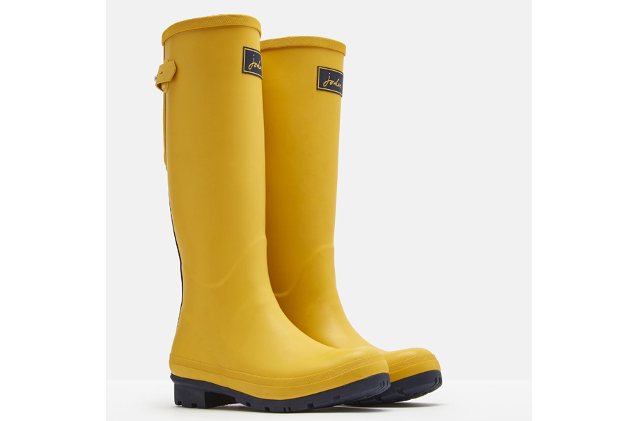 Joules Field Welly Antique Gold
