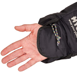 Zipped hand enclosure