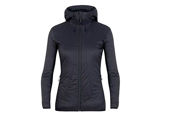 Icebreaker Womens Hyperia Lite Hooded Jacket