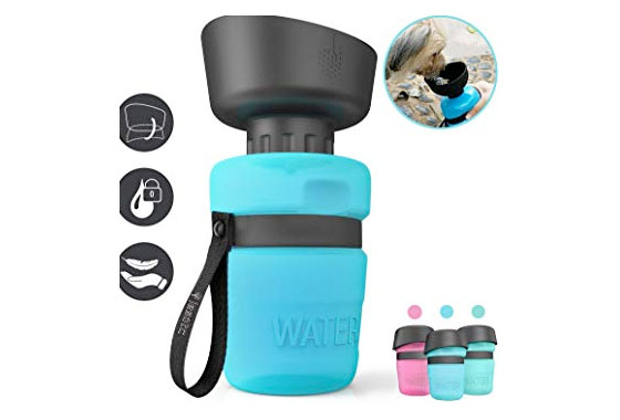 lesotc pet travel water bottle