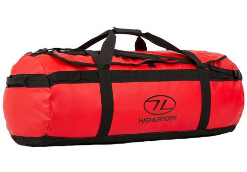 Red Lomond Duffle Bag 120L