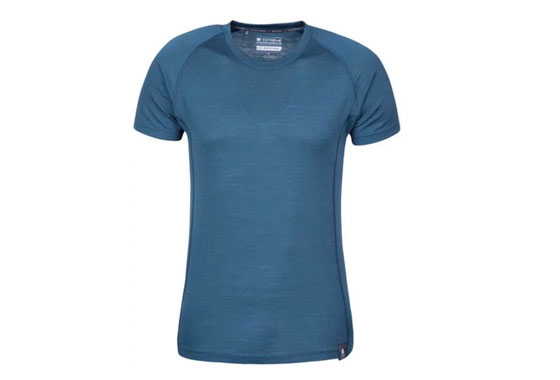 Mountain Warehouse Summit Mens Merino T-Shirt