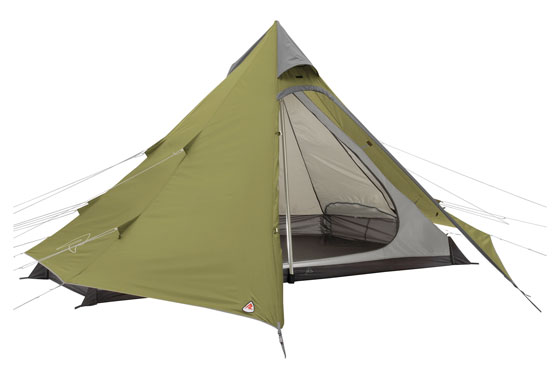 Green Cone Tipi Tent 2020