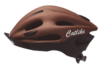 Black/Brown Matt Catlike Origen Cycle Helmet