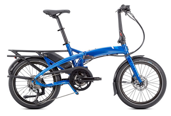 Tern Vektron Q9 Folding Electric Bike Blue