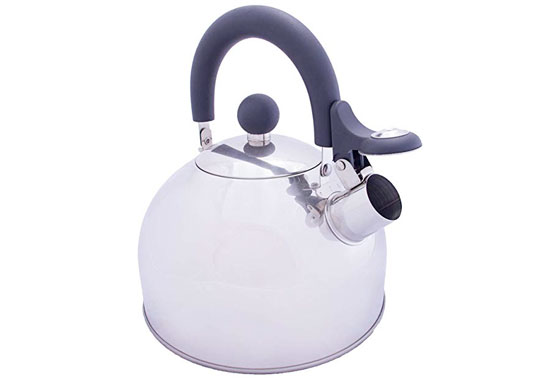 Vango Stainless Steel 1.6L Camping Kettle